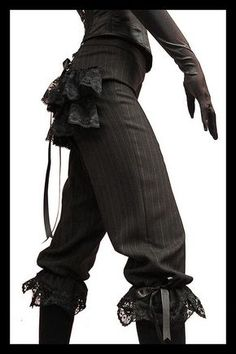 Lovechild Boudoir - Lady Apprentice Steampunk corset breeches by Lovechild Boudoir, via Flickr