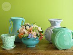 vintage pottery pieces...
