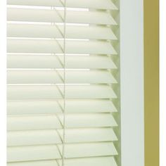 Custom Size Now by Levolor 35-in W x 72-in L Dover Faux Wood 2-in Slat Room Darkening Plantation Blind