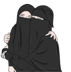 Cartoon Girl Images, Girl Cartoon, Cartoon Art, Best Facebook Profile Picture, Muslim Images, Hijab Drawing, Islamic Cartoon, Bff Drawings, Hijab Cartoon