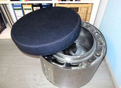 Here's another idea for the drum from a old washing machine! If you're in need of some spare seating... - claudiakiessling.com