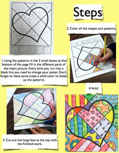 Free pop art 2 - PATTERNS. I'd encourage students to come up with their own patterns as well as using the provided patterns.