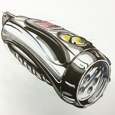 Quick marker sketch #idsketching #ID #industrialdesign #productdesign…