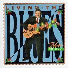 Living The Blues Christmas CD Hooker Amos Washboard Nappy Koko Time Life 1999 #ChristmasBlues