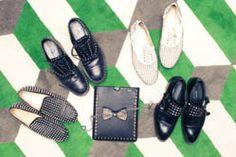 brad goreski's studded shoes
