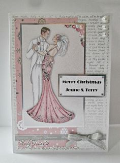 Confessions of a Papersniffer: More Art Deco Christmas Cards or wedding