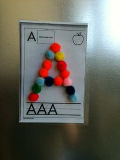 awesome things with magnets!!! Wish I would have thought of this in Kindergarten!