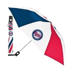 Minnesota Twins MLB Automatic Folding Umbrella