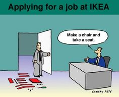 Interview for clever job seeker.