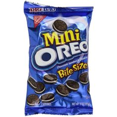 Oreo Mini Chocolate Bite Size Sandwich Cookies, 3-Ounce Bags (Pack of... ($19) ❤ liked on Polyvore featuring food, items, food & drink, food // drinks and food and drink