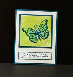 Summer Butterfly by Jozd - Cards and Paper Crafts at Splitcoaststampers