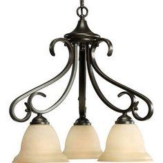 Breakfast room - Progress Lighting Torino Ceiling Chandelier