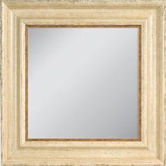 Custom frame a mirror for your space! #customframe #mirror