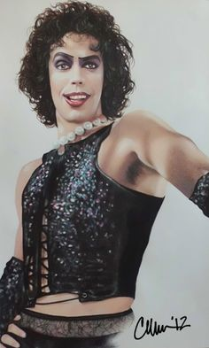"""Rocky Horror Picture Show"" Tim Curry 1975 Rocky Horror Show, The Rocky Horror Picture Show, Tim Curry Rocky Horror, Disney Channel, Star Wars, Movies Showing, My Idol, Actors & Actresses, Beautiful People"