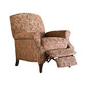 Macy's Chloe Recliner Chair, High Leg Country Style