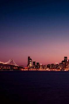 Beautiful skyline ...