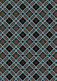 Geometric Pattern Design, Retro Pattern, Pattern Drawing, Pattern Art, Textures Patterns, Print Patterns, Fabric Print Design, Floral Texture, Pattern Library