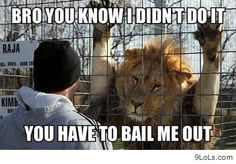 If he won't bail you out...Call Apex Bail Bonding. We will bail you out.
