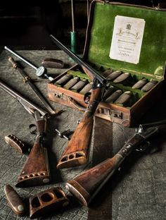 This is the official page of Gentleman Bobwhite, dedicated to the outdoor lifestyle and the pleasures of pursuing the gentleman of game birds: the bobwhite quail. Revolver, Bushcraft, Side By Side Shotgun, Sporting Clays, The Sporting Life, Shooting Guns, Shooting Sports, Star Wars Concept Art, Le Polo