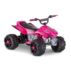 Battery Powered Toddlers Pink ATV