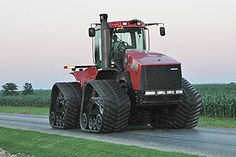 ATI track systems for Agriculture. John Deere, Case, and New Holland Combines and Tractors Jd Tractors, Case Ih Tractors, International Tractors, International Harvester, New Holland, Earth Moving Equipment, New Tractor, Tractor Pulling, Antique Tractors