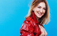Download wallpapers Julia Michaels, 4k, beauty, blonde, superstars, american singer