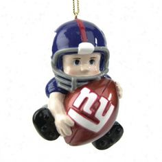 Gotta have a NY Giants ornament.