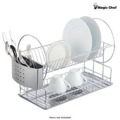 Magic Chef 2-Tier Stainless Steel Dish Rack at 18% Savings off Retail!