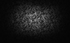Black and white floral model abstract Free HD Wallpaper