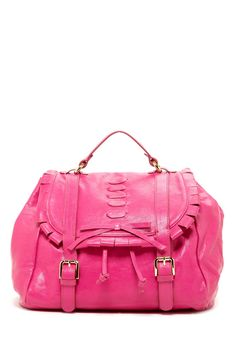 RED Valentino Bow Applique & Woven Backpack on HauteLook