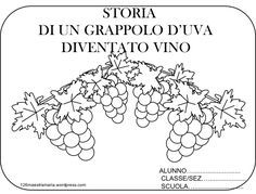 COPERTINA VINO New Years Eve Party, Food Coloring, Pixel Art, Projects To Try, Diy Crafts, Teaching, Education, School, Autumn