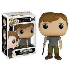 Product Info The baker's son and tribute for District 12 is joining the Pop! vinyl family! This Hunger Games Movie Peeta Mellark Pop! Vinyl Figure features the young hero, spear in hand. Figure measur