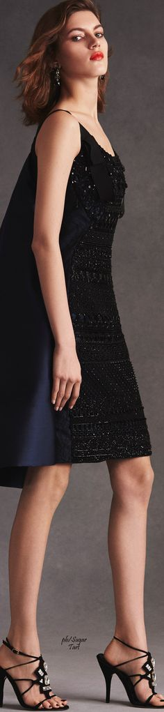 Oscar de la Renta Resort 2016 Little Black Dress