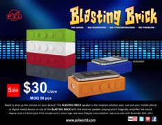 "The ""Can't Miss"" item of the year is now ON SALE. You can now get the Blasting Brick for $30 c. Don't miss out on this great deal and get your order in before November 30th, 2013 Digital Media, Great Deals, 30th, Fitbit, Brick, November, Phone, November Born, Telephone"