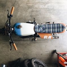 OVERBOLD MOTOR CO. — Awesome seat concept @kickstartgarage!! #caferacer...