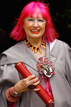 Zandra Rhodes (Vogue