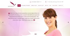 Our website of the day today is - http://www.aesthetics-dentistry.com/
