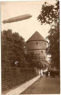1930 Tallinn GRAF - ZEPELIN LZ 127 / 09-24