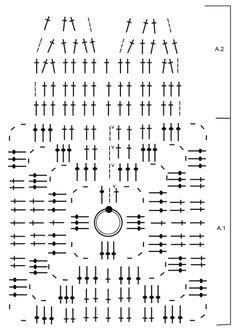 """Spot Luck - Agarrador DROPS en ganchillo con forma de trébol de cuatro hojas, en """"Paris"""". - Free pattern by DROPS Design"""