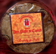 LÁCTEAS DON PICÓN DE CUENCA: Queso de Oveja curado madurado en brandy y trufa. Fuentidueña de Tajo. Madrid.