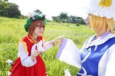 Anime,аниме,Chen,Chen(Touhou),Touhou Project,Touhou, Тохо,Anime Cosplay,Kisa Sakura (湛藍),продолжение под катом