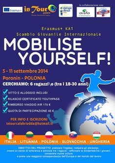 5th-11th Sept 2014 - Poronin, Polonia. Mobilise Yourself