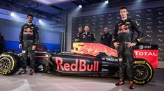 Puma & Red Bull Racing Reveal 2016 Team Kit and New Car Livery. © Puma/Red Bull Racing