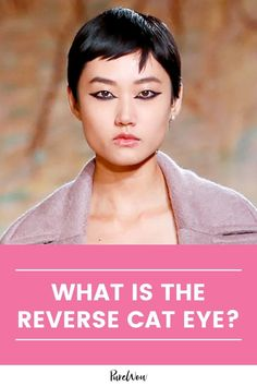 According to TikTok, regular winged liner is out and the reverse cat eye is in. Here's why you should try the look for yourself. #eyeliner #makeup #beauty Natural Everyday Makeup, Natural Makeup Looks, Eyeliner Looks, Eyeliner Makeup, How To Wear Makeup, Lower Lashes, Winged Liner, Eye Shapes, New Tricks