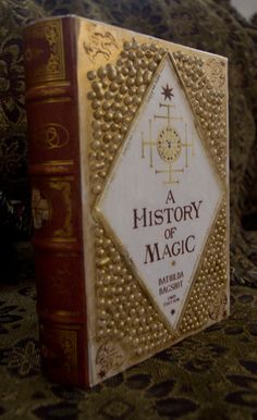 "Harry Potter ""A History of Magic"" Book Prop Replica on Etsy, $20.00"