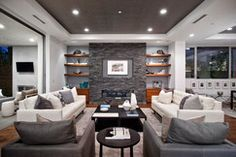 Living room design Projects SCM Design Group Style: Various