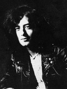 Jimmy Page Photograph  '1969
