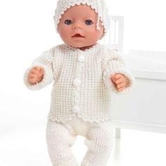 Jakke, bukse lue og sokker - Viking of Norway Baby Born, Norway, Vikings, Onesies, Teddy Bear, Socks, Barbie, Knitting, Pants