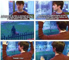 Daniel Radcliffe. Such a funny guy