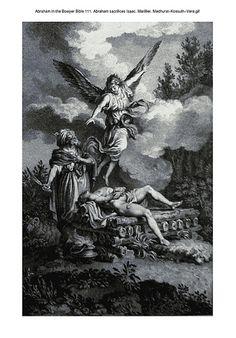 Abraham in the Bowyer Bible 111. Abraham sacrifices Isaac. Marillier. Medhurst-Kossuth-Vere on Flickr.Abraham in the Bowyer Bible 111. Abraham sacrifices Isaac. Marillier. Medhurst-Kossuth-Vere
